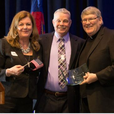 MCCH Honored Father John Enzler with the 2016 Distinguished Service Award