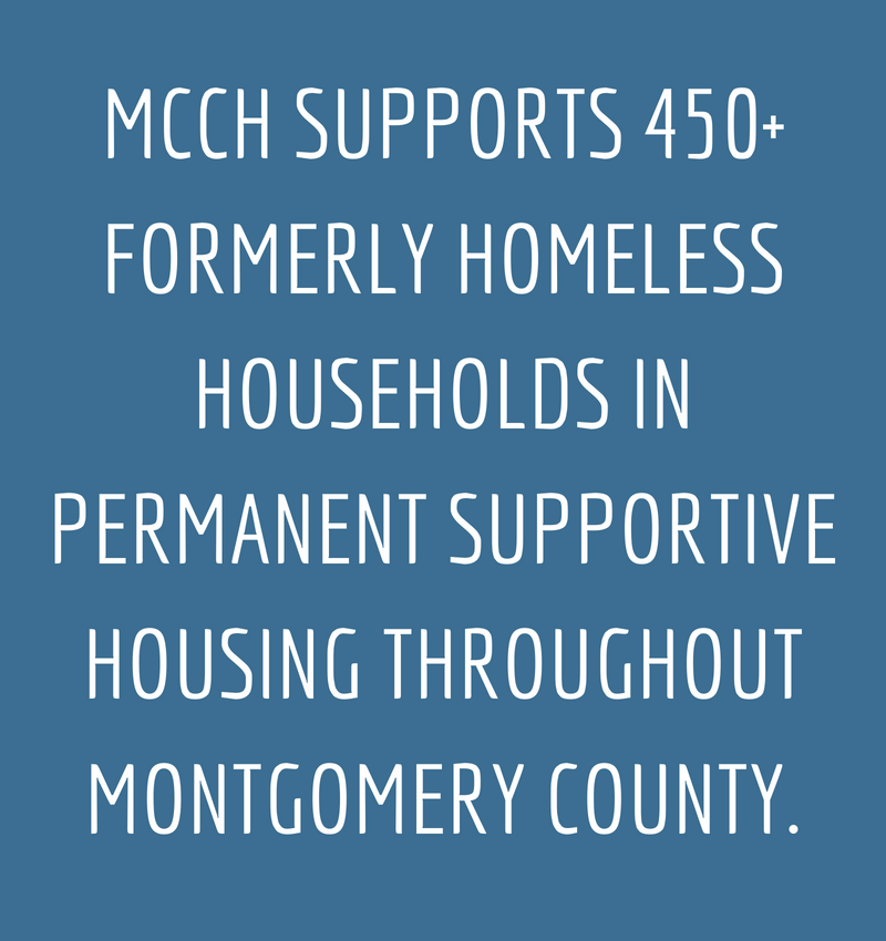 MCCH SUPPORTS 450+ FORMERLY HOMELESS HOUSEHOLDS IN